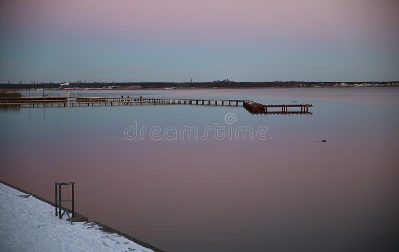 Lago en Sajonia, Alemania fotografía de archivo libre de regalías