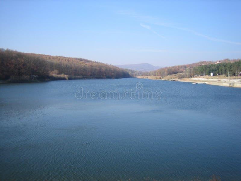Lago en Sumarice, Kragujevac foto de archivo libre de regalías