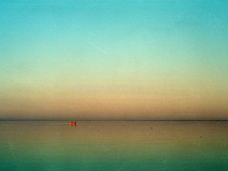 Lago en Turkmenistán 2004 imágenes de archivo libres de regalías