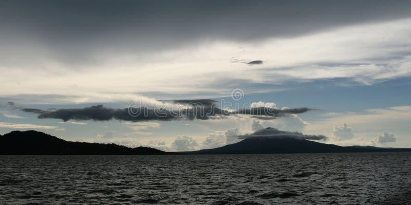 Lago entrecortado Nicaragua imágenes de archivo libres de regalías