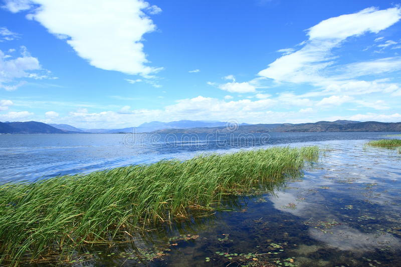 Lago Erhai imagem de stock