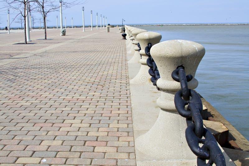 Lago Erie cleveland imagen de archivo