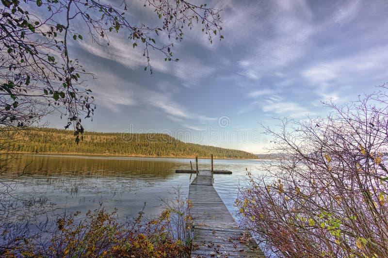 Lago escénico Chatcolet en Idaho fotos de archivo libres de regalías