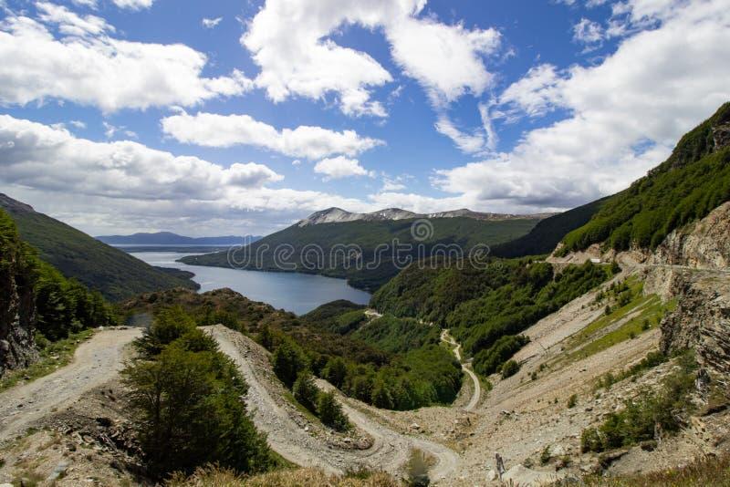 Lago Escondido, Patagonia Argentina fotografia de stock royalty free