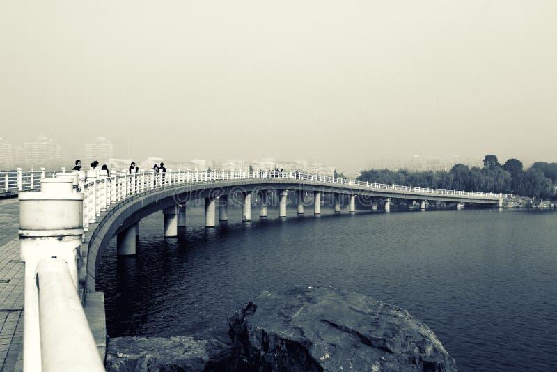 Lago esmeralda, Anhui, China imagen de archivo