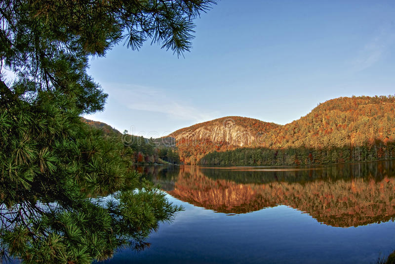Lago Fairfield fotografia stock libera da diritti