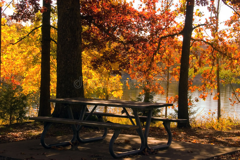Lago fall imagen de archivo libre de regalías