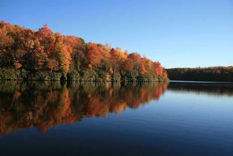 Lago fall fotografia stock libera da diritti