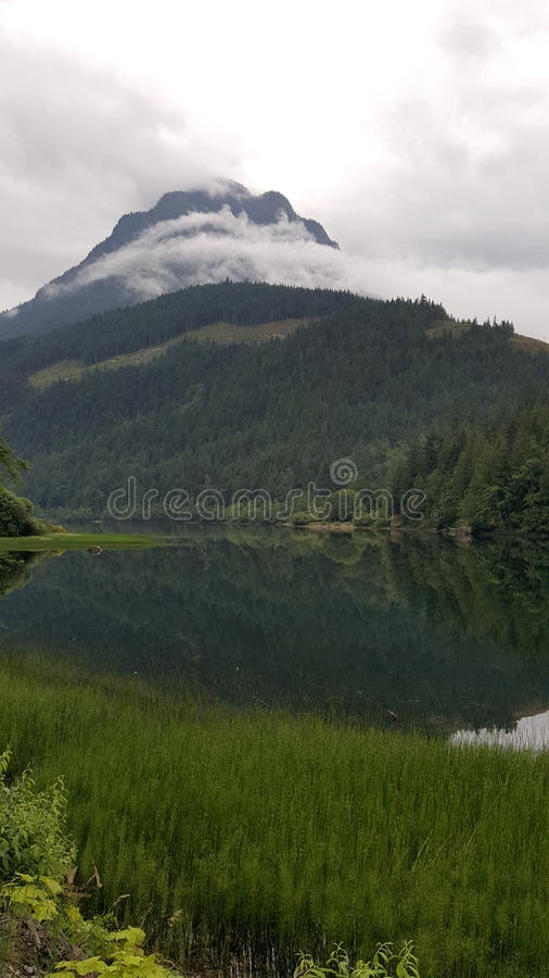 Lago fall fotos de stock