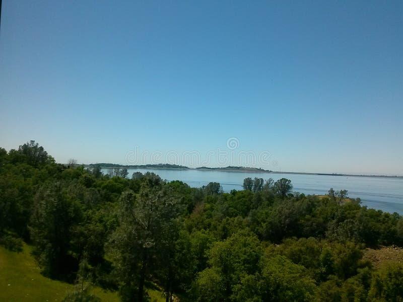 Lago Folsom immagine stock libera da diritti