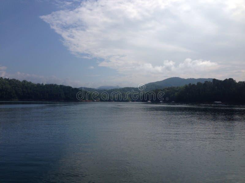 Lago Fontana imagen de archivo