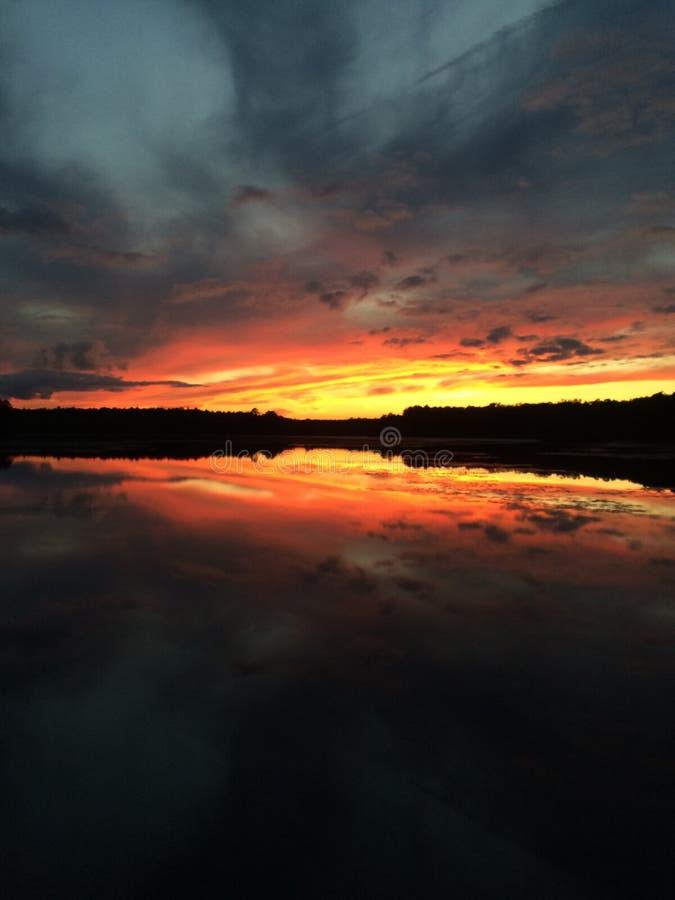 Lago Fred imagens de stock royalty free
