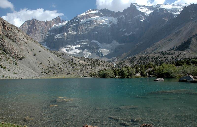 Lago fresco mountain foto de archivo libre de regalías