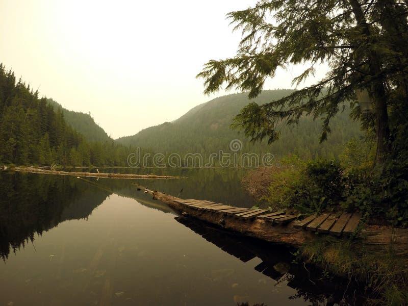 Lago Gambier, Vancouver VC Canadá imagen de archivo libre de regalías