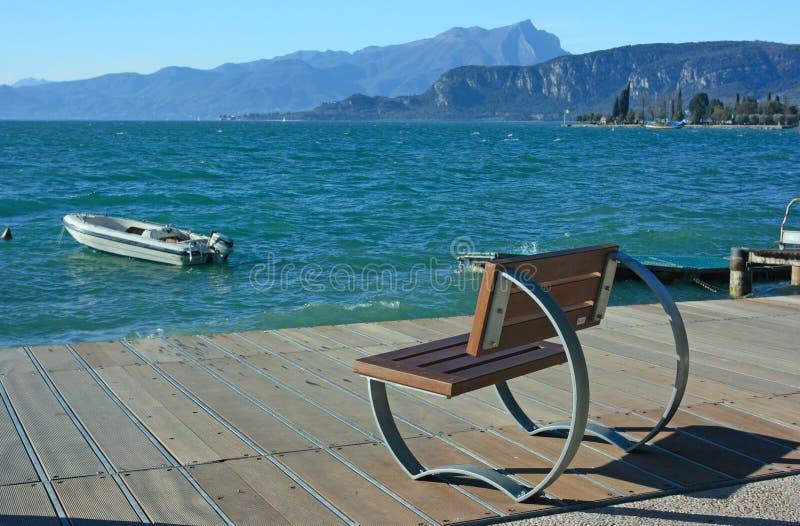 Lago Garda foto de archivo