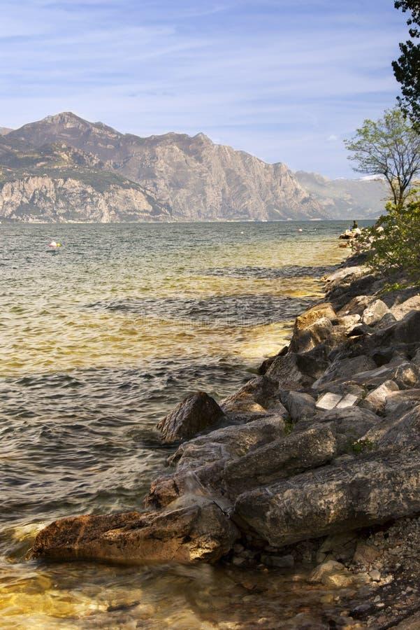 Lago Garda fotografie stock libere da diritti