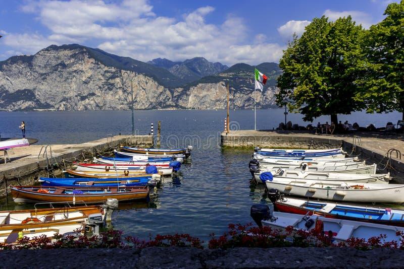 Lago Garda fotografía de archivo libre de regalías