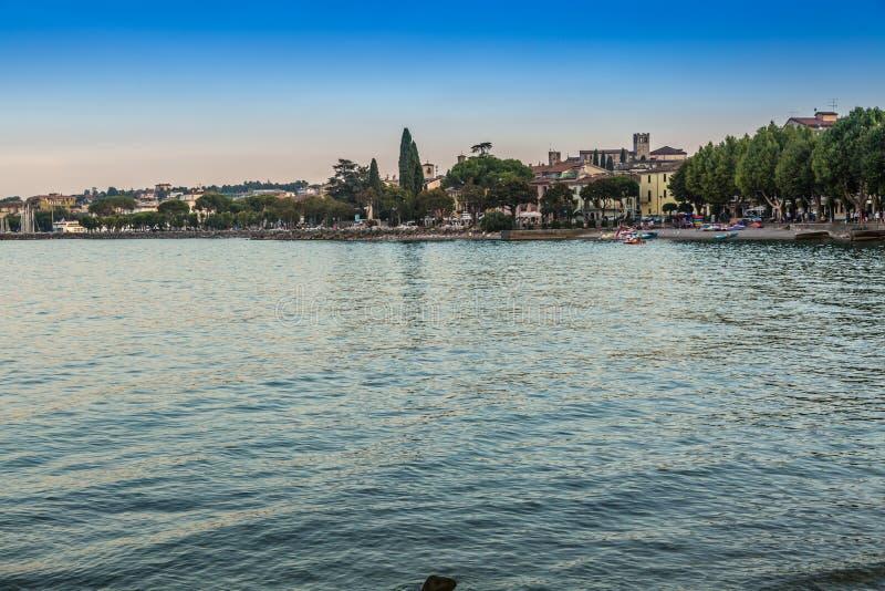 Lago Garda Desenzano imágenes de archivo libres de regalías