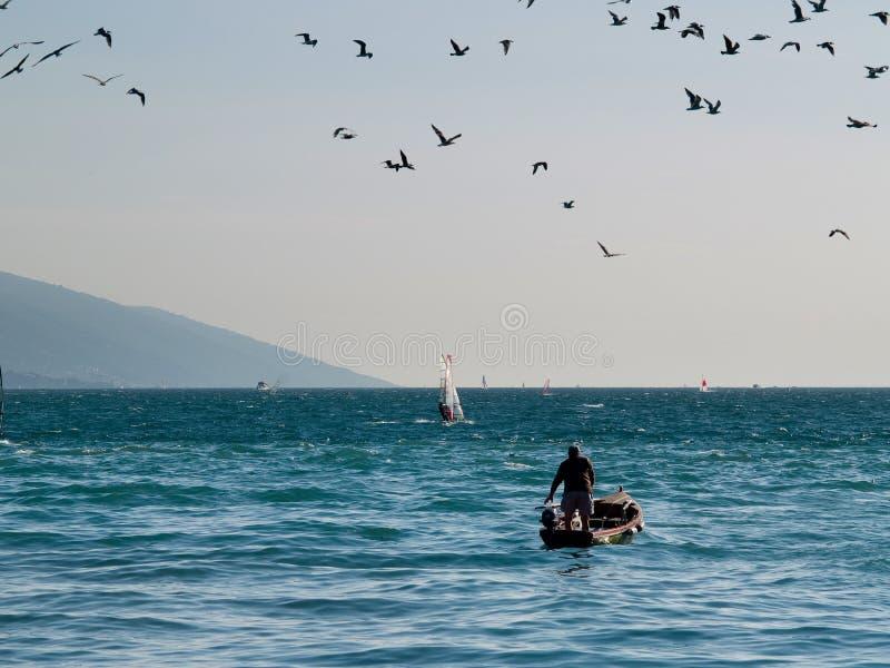 Lago Garda - Italia imagen de archivo