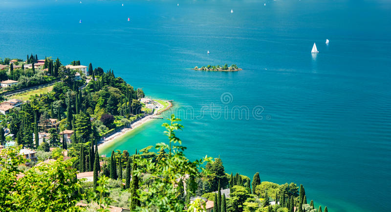 Lago Garda, Italia immagine stock libera da diritti