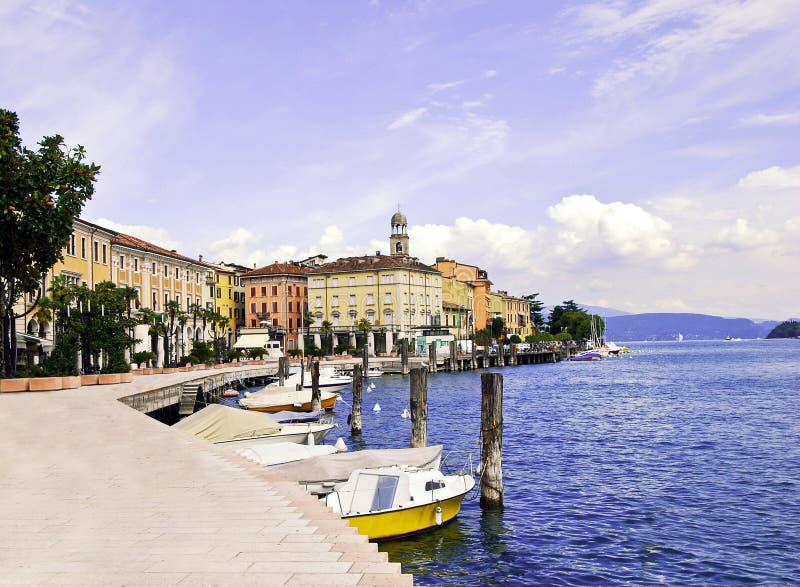 Lago Garda, Salo imagen de archivo libre de regalías