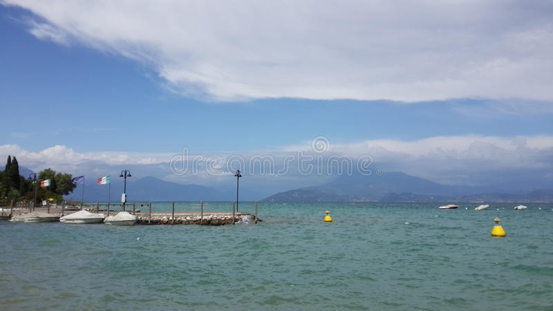 Lago Garda, Verona imagens de stock