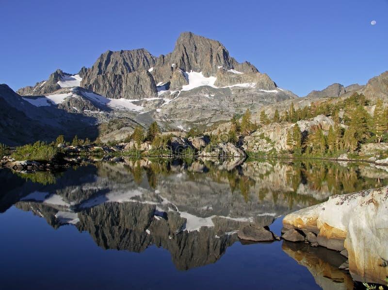 Lago garnet imagen de archivo