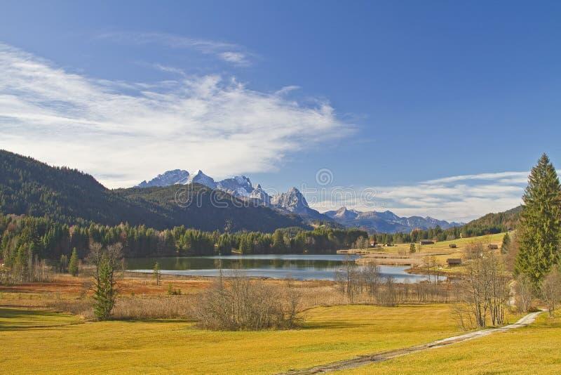 Lago Gerold fotografía de archivo