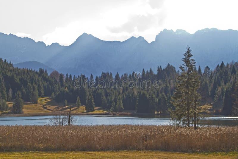 Lago Gerold imágenes de archivo libres de regalías