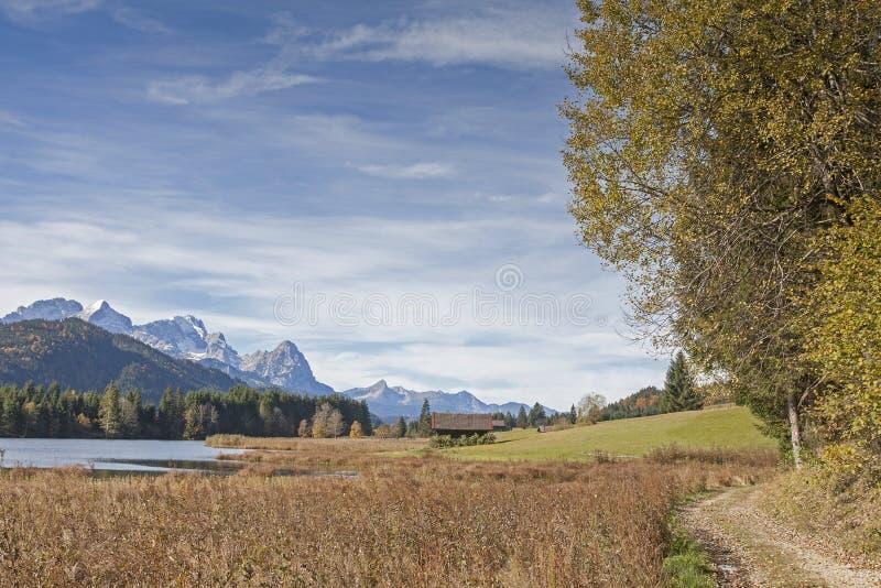 Lago Gerold fotografía de archivo libre de regalías