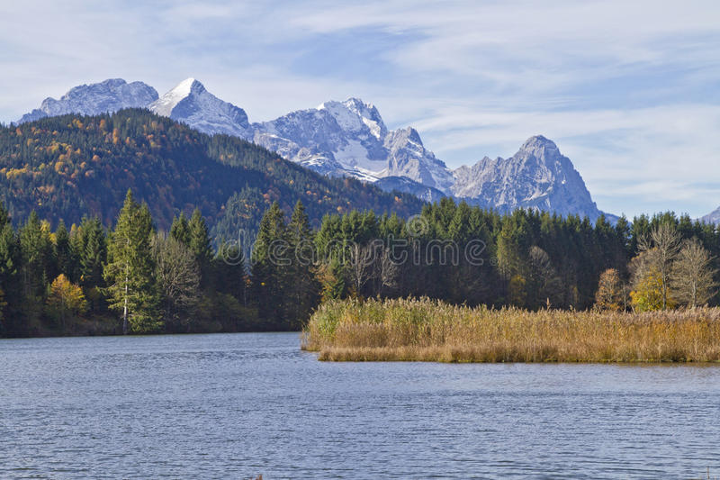 Lago Gerold imagenes de archivo