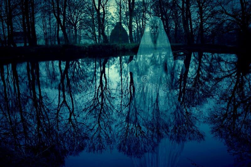 Lago Ghost kiln da cerâmica de Waterloo imagem de stock