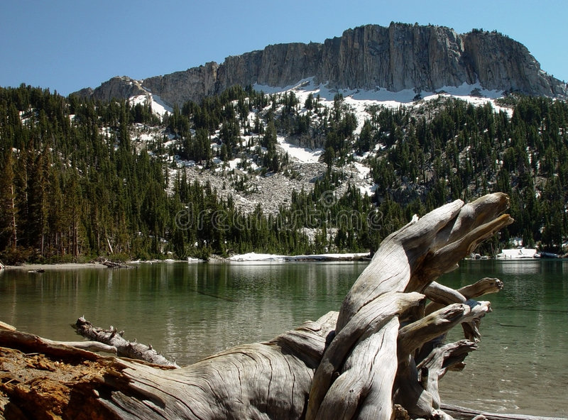 Lago gigantesco fotografia stock libera da diritti