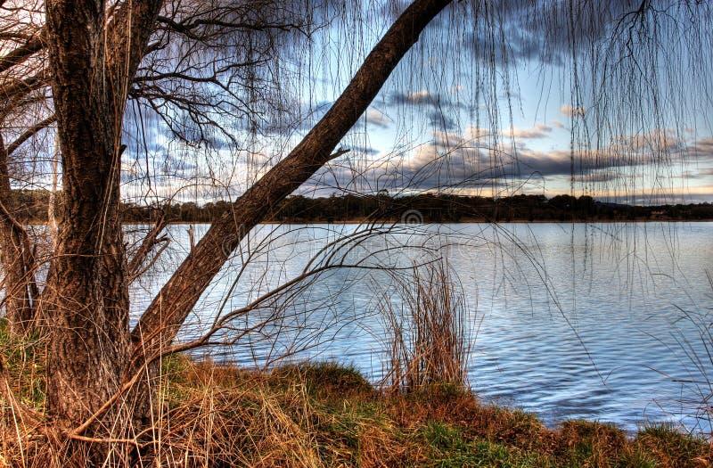 Lago Ginninderra fotos de archivo libres de regalías