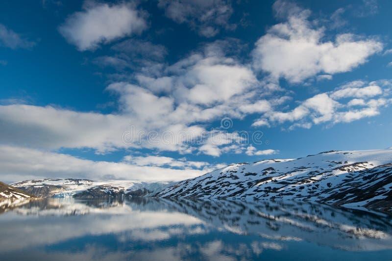 Lago glacial fotografía de archivo