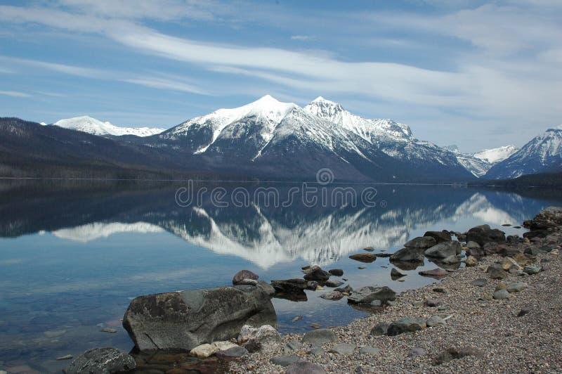 Lago glaciale immagini stock