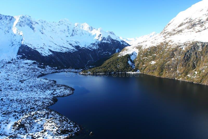 Lago glacier fotografie stock