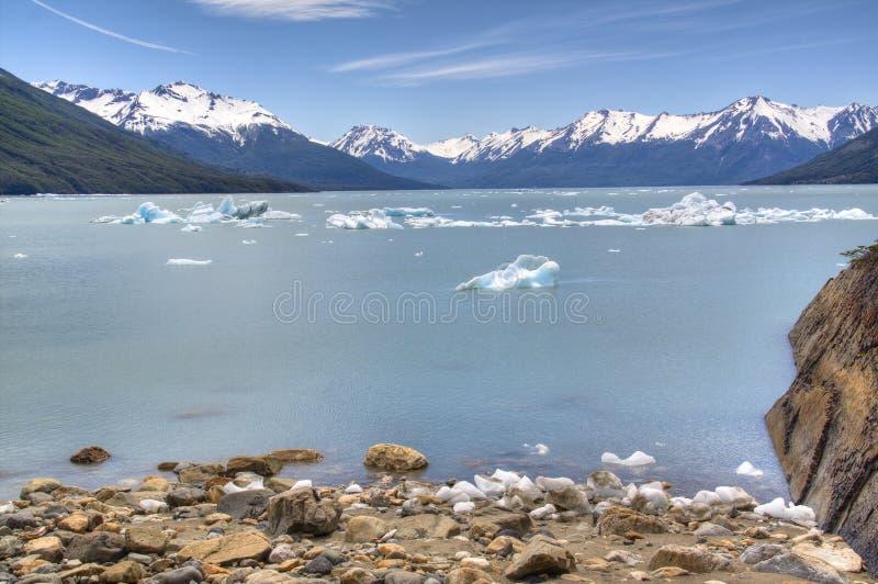 Lago glacier no EL Calafate, Argentina imagem de stock royalty free