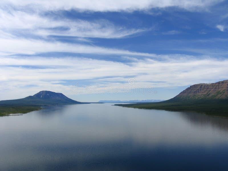 Download Lago Glubokoe foto de stock. Imagem de sibéria, federation - 60734