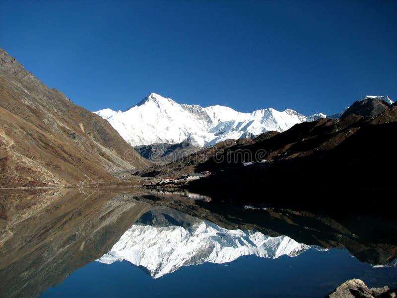 Lago Gokyo fotos de archivo libres de regalías
