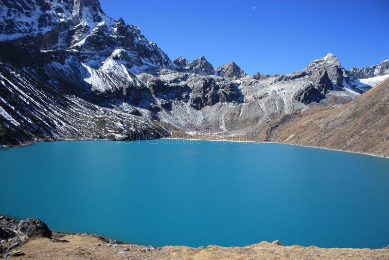 Lago Gokyo immagini stock