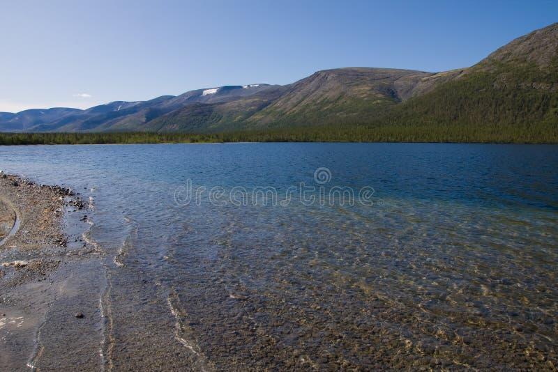 Lago Goltsovoe fotografie stock libere da diritti