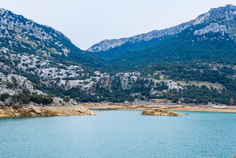 Lago Gorg Blau, Maiorca immagini stock libere da diritti