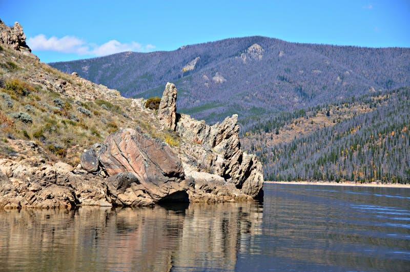 Lago Granby, Colorado foto de stock royalty free