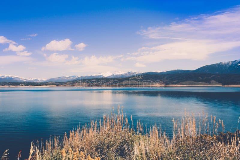 Lago Granby Colorado Rocky Mountains imagenes de archivo