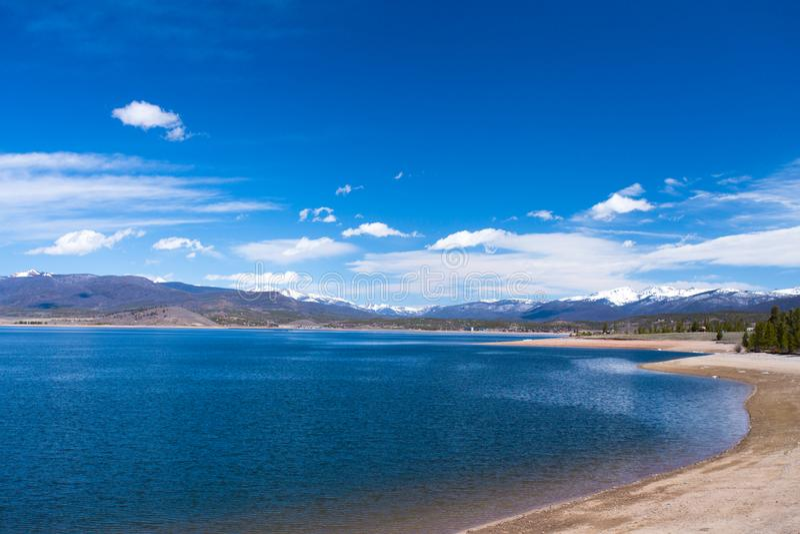 Lago Granby Colorado Rocky Mountains fotografía de archivo libre de regalías