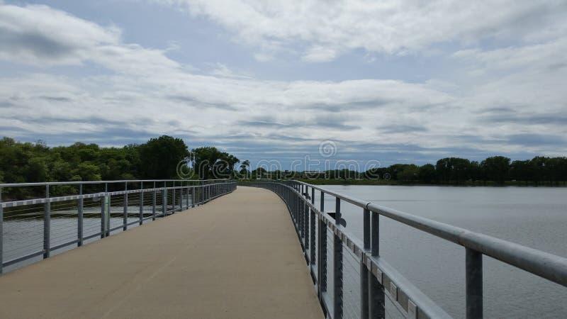 Lago Grays del ponte @ fotografia stock