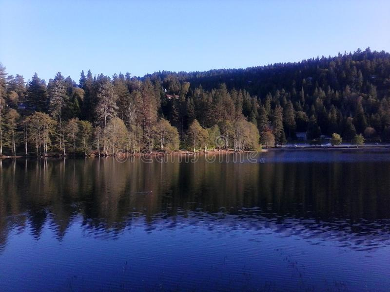 Lago Gregory imagenes de archivo