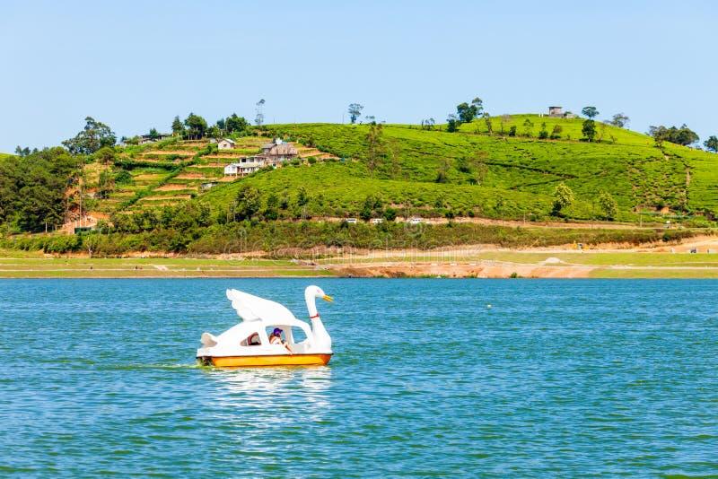 Lago Gregory, Nuwara Eliya imagen de archivo