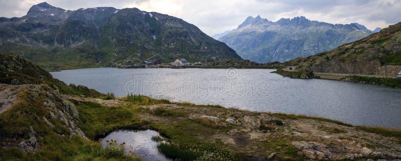 Lago Grimsel, Berna, Svizzera immagini stock